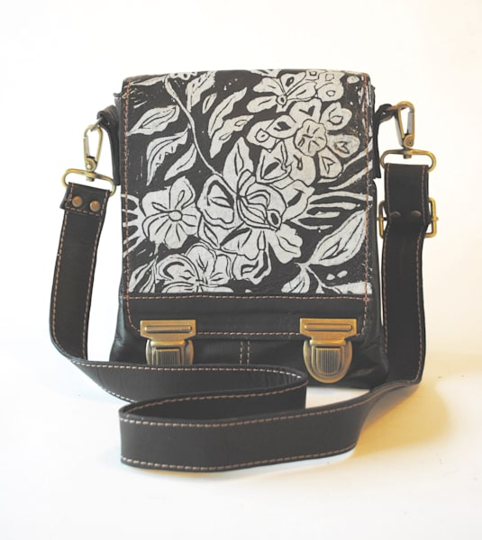leeds satchel wildflower