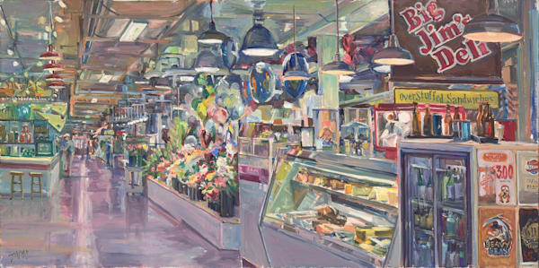 Our Market Art | Crystal Moll Gallery