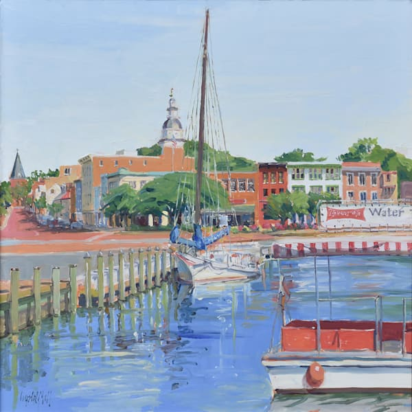 Maryland Shore Towns Oils