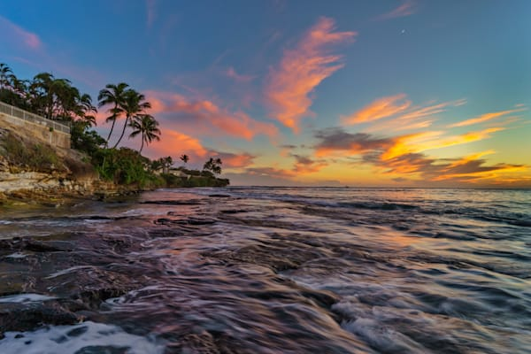 Hawaii Photography | Kokee Rocky Shoreline by Peter Tang