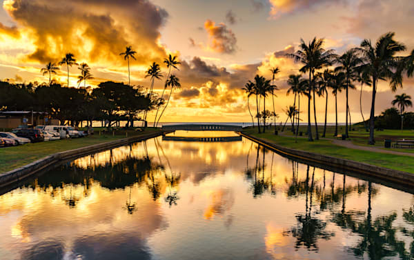 Hawaii Photography | Stream to Kahala Kai by Peter Tang