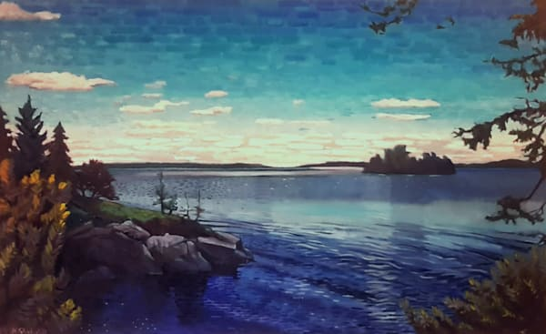 Blue North an oil painting by Mark Granlund