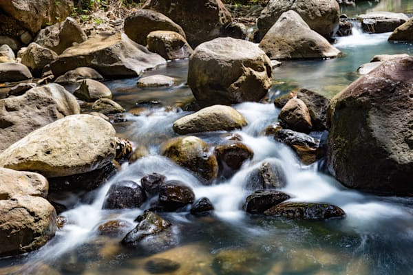 Stream of Consciousness, cascading water