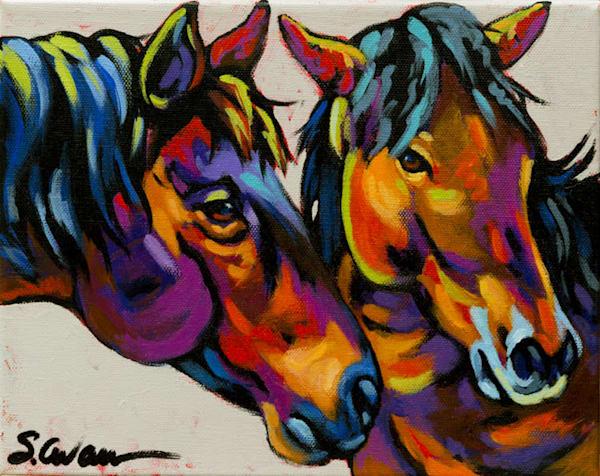 Got A Secret Art | Sally C. Evans Fine Art