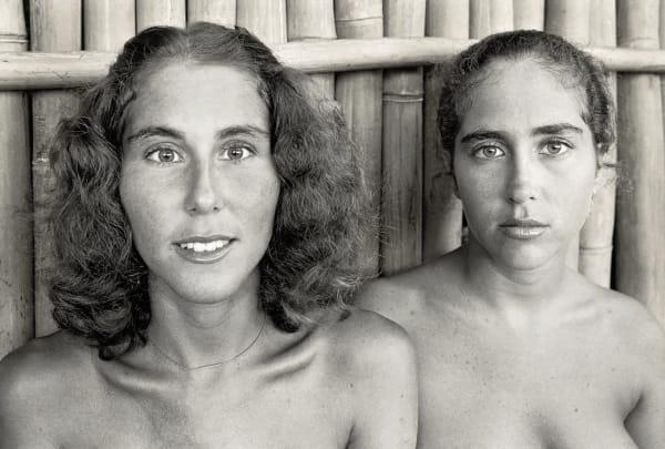 Teri and Debi Green, 1976