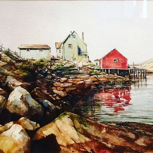 Peggy's Cove by Anthony Saldutto | SavvyArt Market original painting