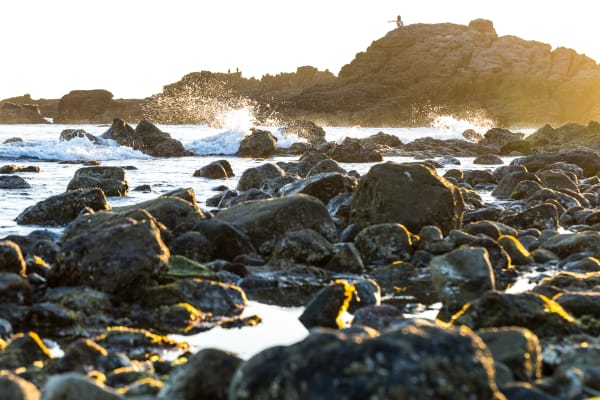 Leo Carrillo State Park Beach At Sunset Photograph For Sale As Fine Art