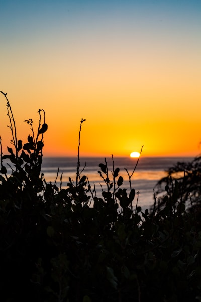 Sunset at Leo Carrillo State Park Photograph For Sale As Fine Art