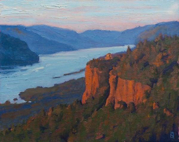 Columbia Gorge Vista Art   Michael Orwick Arts LLC