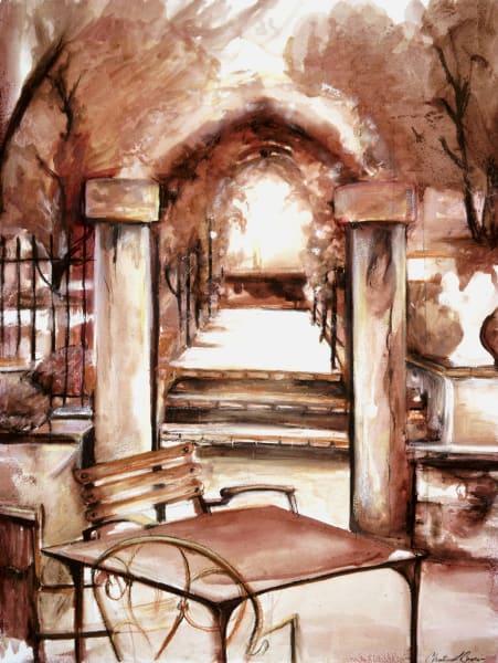 Rustique, art print by Christina LoCascio