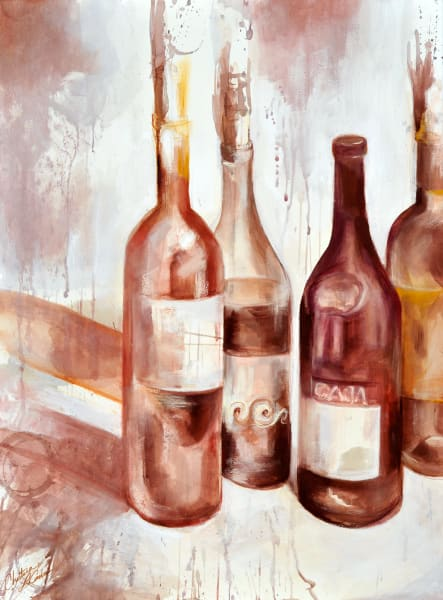Bottle Shock, fine art print by Christina LoCascio