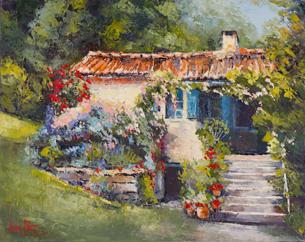 Provence Cottage, art print by James Pratt