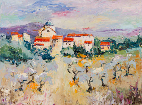 Spanish Vines, art print by James Pratt