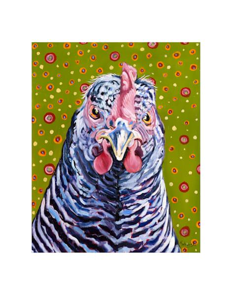 11x14 Psycho Chicken On Paper   HFA print gallery