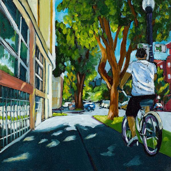 12x12 Sacbike On Paper | HFA print gallery