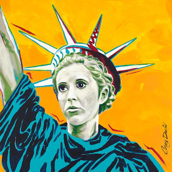 12x12 Leia Liberty On Paper | HFA print gallery