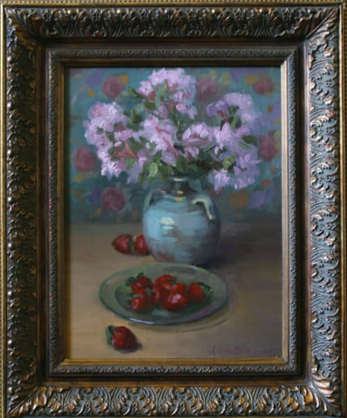 Blossoms and Berries- Paintings and Fine Art by Dan Barsness