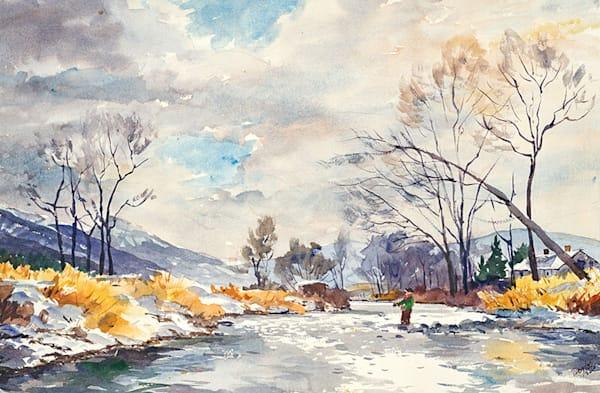 November Light, Armstrong Creek fine art print by Bill Doyle.