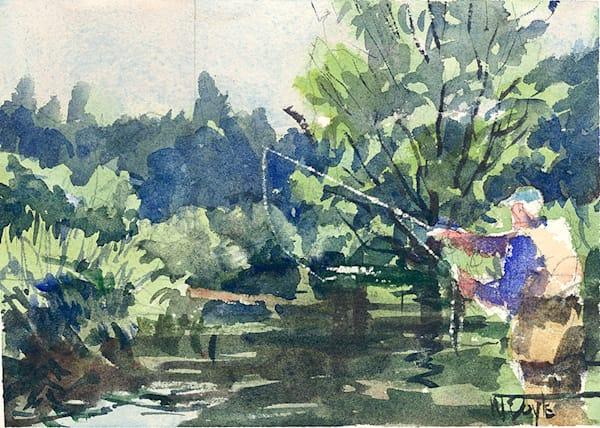 Comet Creek II fine art print by Bill Doyle.
