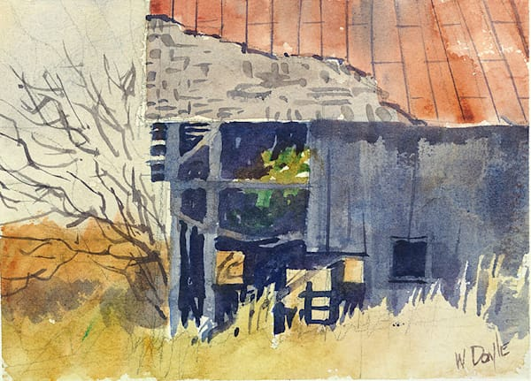 Old Barn Door County fine art print by Bill Doyle.