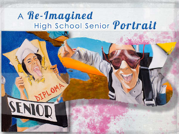 Life Illustrations- High School Senior Portraits