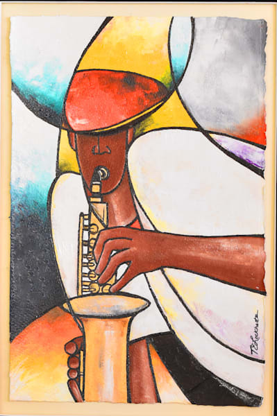 Play Saxman! Play! (Sold) Art | thomaselockhart