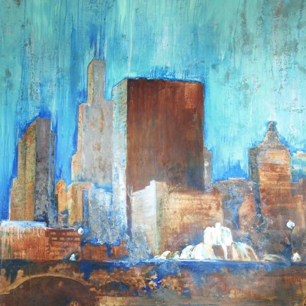 Blue Buckingham Block 6
