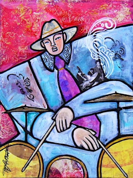 Visionary Drummer Art | thomaselockhart