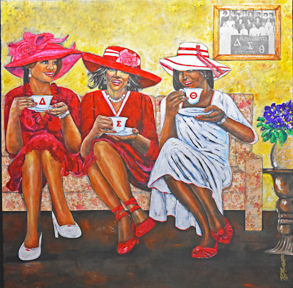 Deltas Tea Art   thomaselockhart