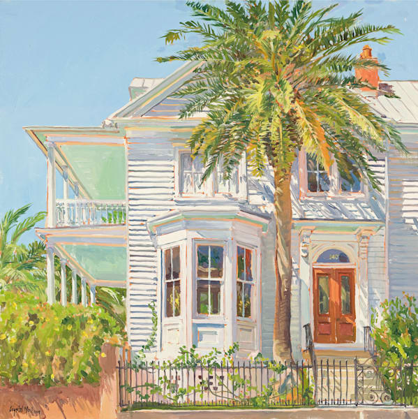 Low Country, Haint Blue Art | Crystal Moll Gallery