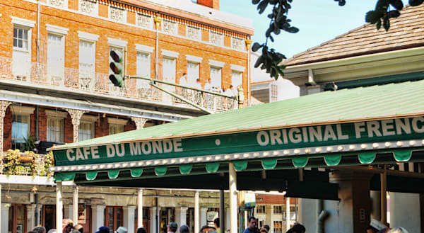 Cafe du Monde in NOLA