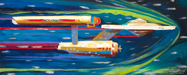 24x12  Tos Enterprise On Paper | HFA print gallery