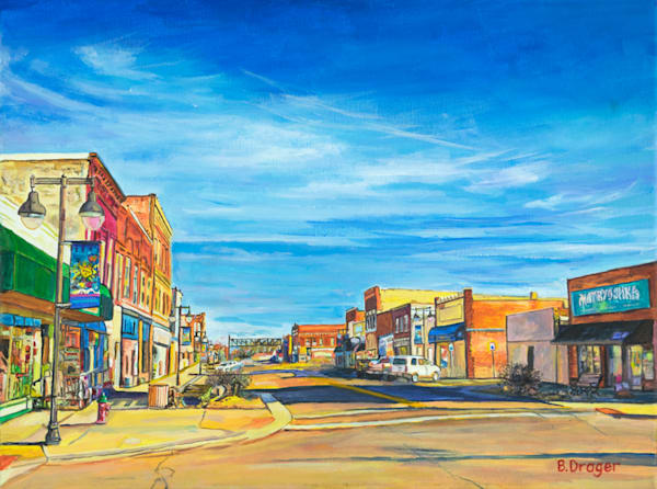 NOTO Art District by Becky Drager | Kansas Art Gallery