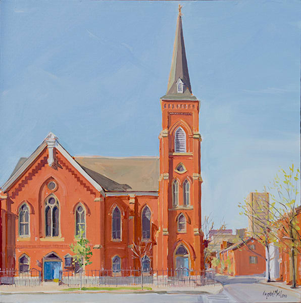Corner Church Art | Crystal Moll Gallery
