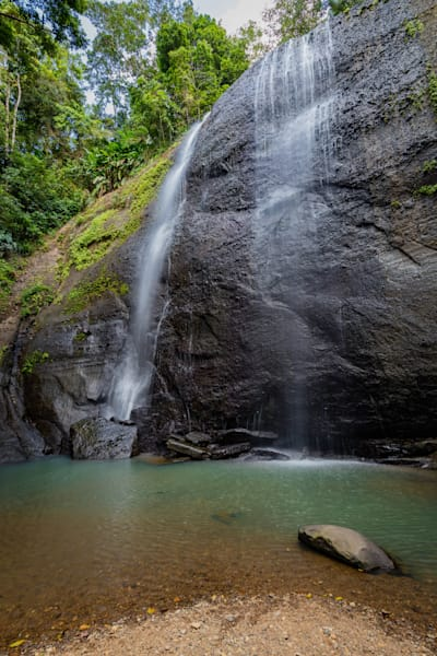 Moment of Grace, Sault Falls, St Lucia
