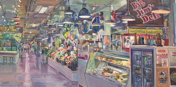 Our Market / Print Art | Crystal Moll Gallery