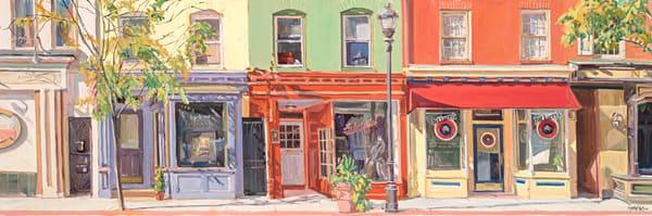 Charles St. Neighbors / Print