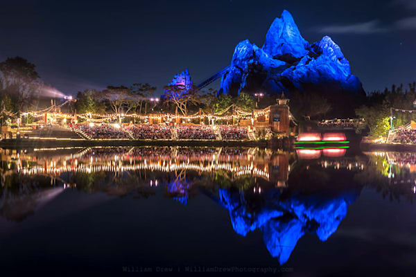 Blue Everest Reflection - Disney Wall Murals | William Drew