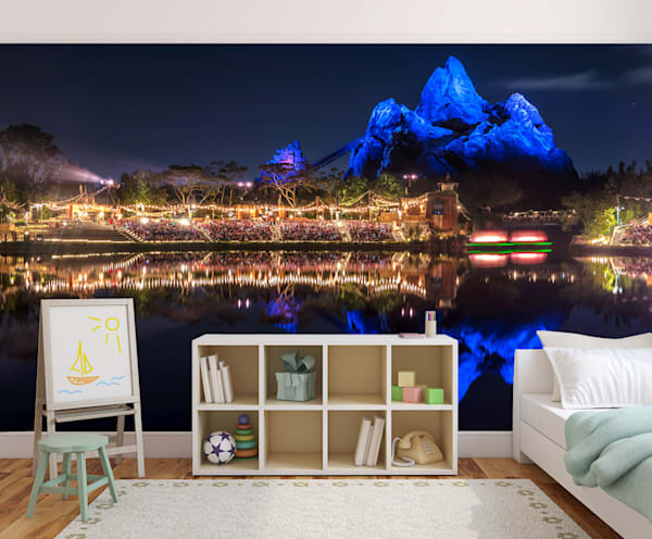 Blue Everest Reflection - Disney Wall Murals | William Drew