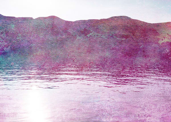 """Wahweap Painting 2"" Mixed Media Fine Art Print"
