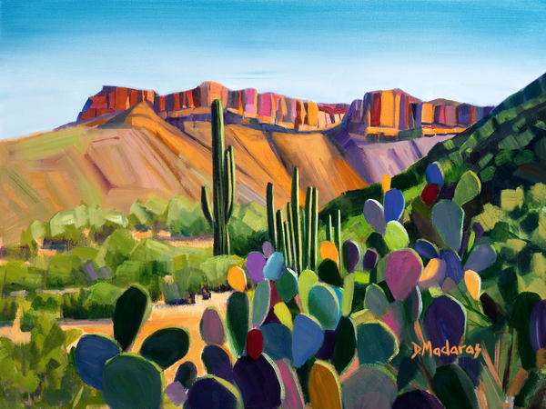 Aravaipa Canyon | Southwest Art Gallery Tucson | Madaras