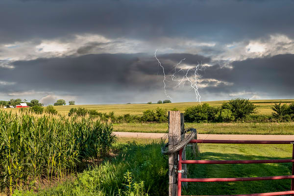 Lightning Strike on the Farm