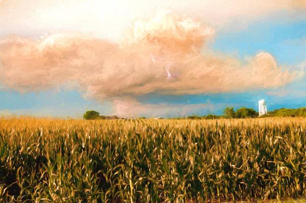 Holmesville Ne Sunset Lightning