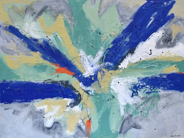 Clear Abstract Paintings Art for sale | Anne Rivers