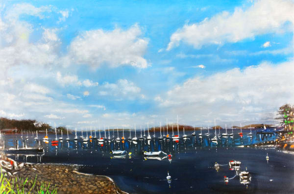 Wilson Cove Art | Sandy Garnett Studio