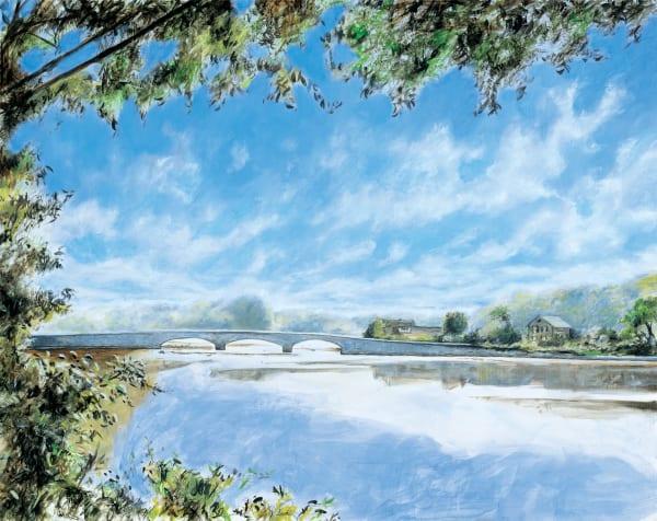 Rings End Road Bridge Art | Sandy Garnett Studio