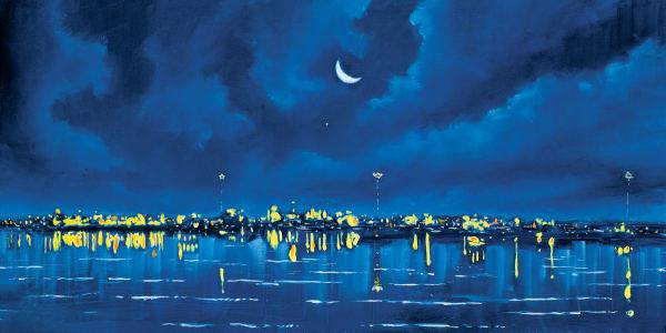 Rowayton Nocturne Art | Sandy Garnett Studio