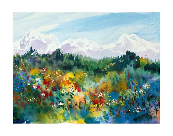 11x14 Spring Meadow On Paper | HFA print gallery