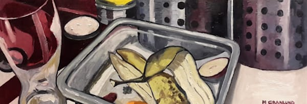 Sinkside Compost 12 Painting by Mark Granlund