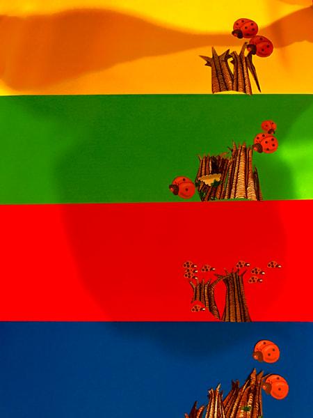 Odeta Xheka Visuals | Beautiful rainbow art canvas prints